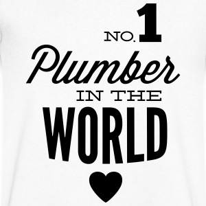 Best plumbing of world T-Shirts - Men's V-Neck T-Shirt