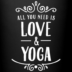 ALl You Need Is Love & Yoga Tazas y accesorios - Taza de un color