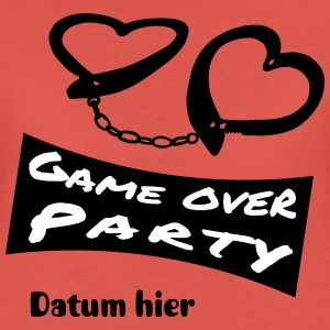 game_over_party_2f T-Shirts - Frauen Premium T-Shirt