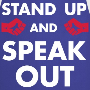 STAND UP & SPEAK OUT ! - Tablier de cuisine