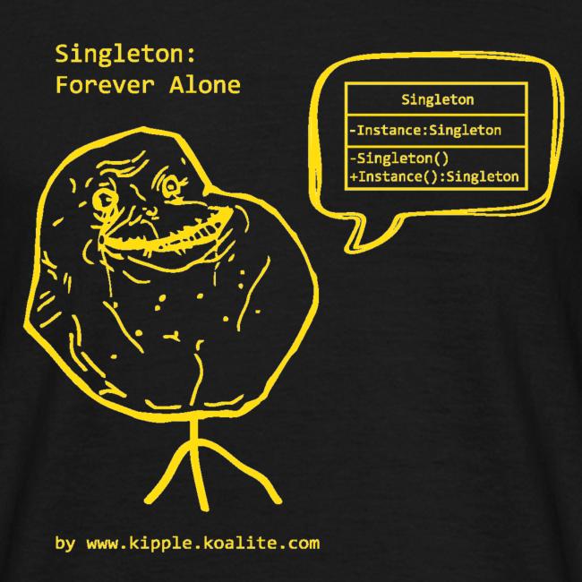 Singleton Design Pattern (Yellow)
