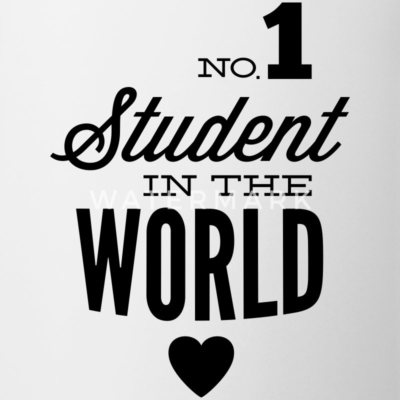 Best student of the world Mugs & Drinkware - Mug
