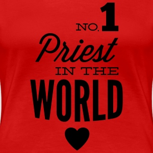 Best priest of the world T-Shirts - Women's Premium T-Shirt