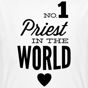Best priest of the world T-Shirts - Men's Organic T-shirt