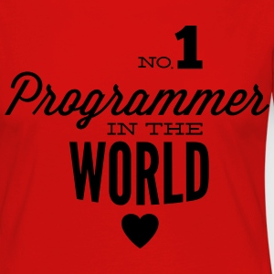 Best programmers in the world Long Sleeve Shirts - Women's Premium Longsleeve Shirt