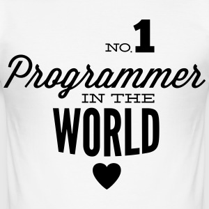 Best programmers in the world T-Shirts - Men's Slim Fit T-Shirt