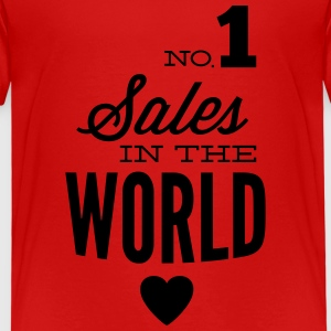 Best salespeople in the world Shirts - Kids' Premium T-Shirt