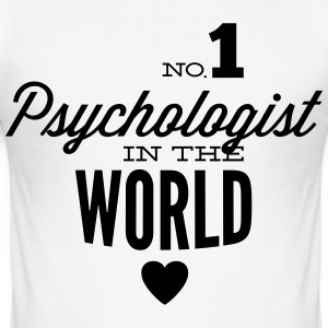 Beste psycholoog in de wereld T-shirts - slim fit T-shirt