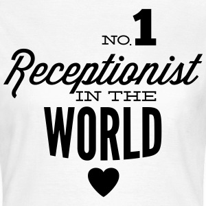Best receptionist in the world T-Shirts - Women's T-Shirt