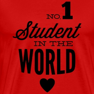 Best student of the world T-Shirts - Men's Premium T-Shirt