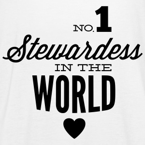 Best stewardess of the world Tops - Women's Tank Top by Bella
