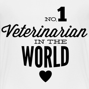 Best veterinary of world Shirts - Teenage Premium T-Shirt