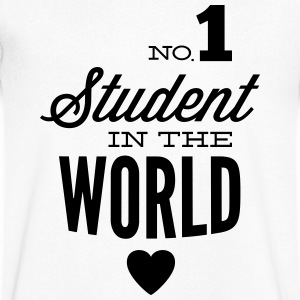 Best student of the world T-Shirts - Men's V-Neck T-Shirt