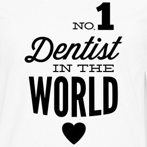 Best dentist in the world Long sleeve shirts - Men's Premium Longsleeve Shirt