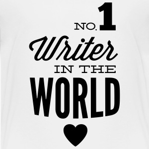 Best author of the world Shirts - Teenage Premium T-Shirt