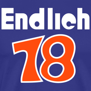 """Geburtstag T-Shirts mit """"Endlich 18"""""""