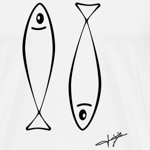 Two Sardines - T-shirt Premium Homme