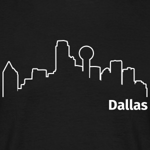 Dallas T-shirts - Mannen T-shirt