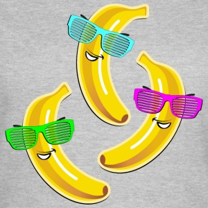 coole Banane Sonnenbrille heißer Sommer hot Party - Frauen T-Shirt