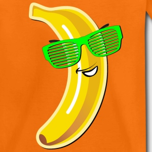 coole Banane Sonnenbrille heißer Sommer hot Party - Kinder Premium T-Shirt