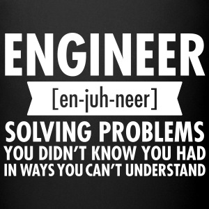 Engineer - Solving Problems Mugs & Drinkware - Full Colour Mug