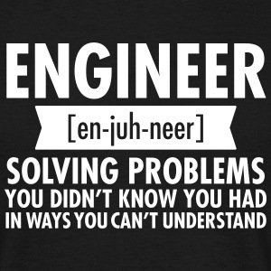 Engineer - Solving Problems Camisetas - Camiseta hombre