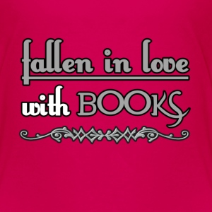 Fallen in Love with Books Shirts - Kids' Premium T-Shirt