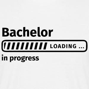 Bachelor in Progress T-shirts - Herre-T-shirt