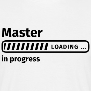 Master in Progress T-shirts - Herre-T-shirt