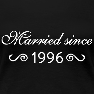 Married since 1996 - Frauen Premium T-Shirt