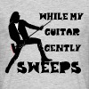 While My Guitar Gently Sweeps - Men's T-Shirt