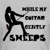 While My Guitar Gently Sweeps - Women's T-Shirt