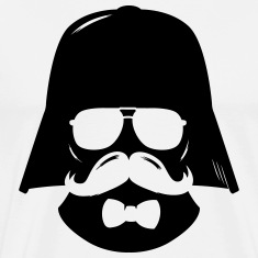 Comic hipster boss moustache father T-Shirts