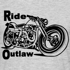 Ride outlaw - T-shirt Homme