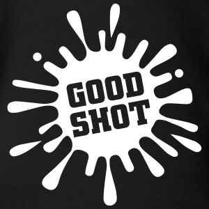 Good Shot Baby body - Baby bio-rompertje met korte mouwen