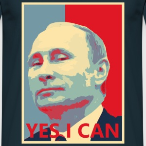 Putin YES I CAN T-Shirts - Männer T-Shirt