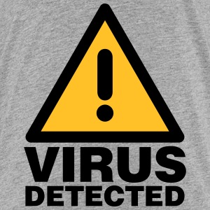 Virus detected Shirts - Kids' Premium T-Shirt