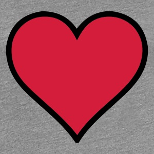 Beautiful heart - Women's Premium T-Shirt