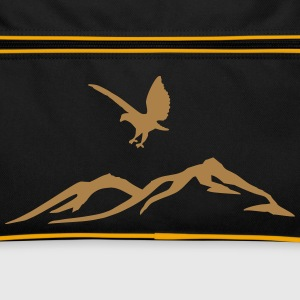Eagle over the mountains - Retro Bag
