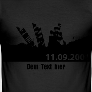 world trade center - Männer Slim Fit T-Shirt