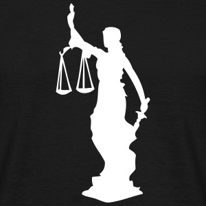 Justitia T-Shirts - Men's T-Shirt