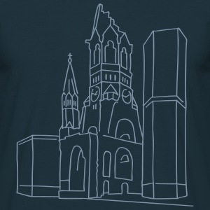 Kaiser Wilhelm Memorial Church Berlin T-Shirts - Men's T-Shirt