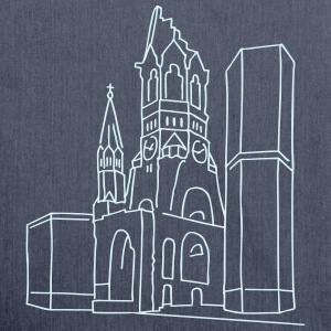 Kaiser Wilhelm Memorial Church Berlin Bags & Backpacks - Shoulder Bag made from recycled material