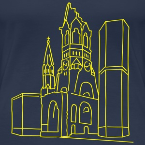 Kaiser Wilhelm Memorial Church Berlin T-Shirts - Women's Premium T-Shirt