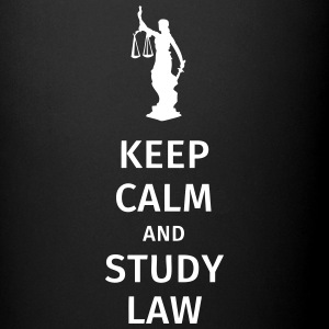 keep calm and study law Bouteilles et Tasses - Tasse en couleur
