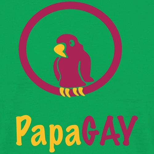 PapaGAY / Papagei / Schwul / Gay 2c