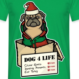 Dog 4 Life - Christmas T-Shirts - Men's T-Shirt