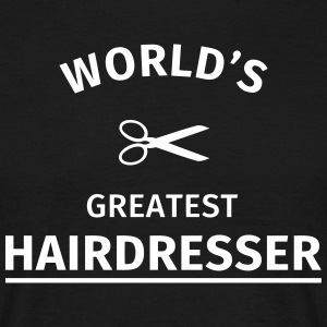 World's Greatest Hairdresser Tee shirts - T-shirt Homme