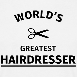 World's Greatest Hairdresser T-Shirts - Männer T-Shirt
