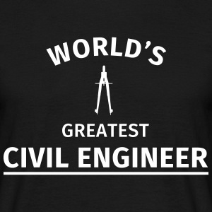 World's greatest civil engineer T-shirts - Mannen T-shirt